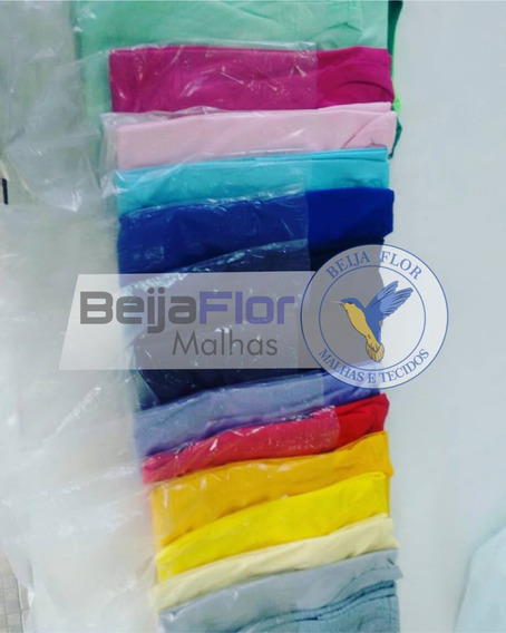 Camiseta 100% Poliéster Color - Lote 20 Peças - P Ao Gg