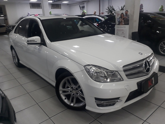 Mercedes-benz Classe C 180 Branca 2014