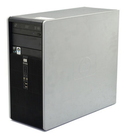Pc Cpu Computador Hp Compaq Amd X2 2,6 Ghz 4gb Hd 500gb