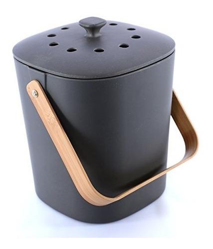 Imagen 1 de 7 de Bamboozle Food Composter Indoor Food Compost Bin Para Kit