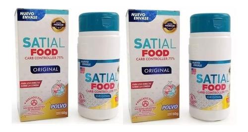 Satial Food Polvo 50g Bloquea Carbohidratos X2 Unid