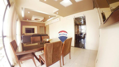 Apartamento Com 3 Dormitórios, 118 M² - Cremação - Belém/pa - Ap0436
