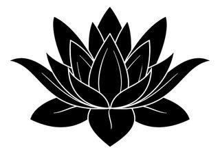 Adesivo De Parede - Flor De Lotus 40x28cm