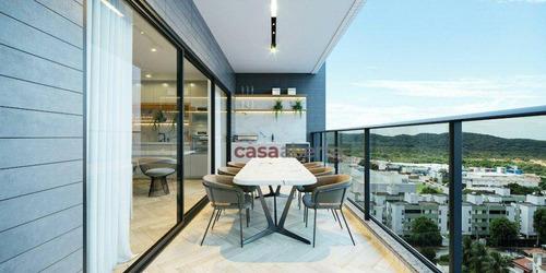 Imagem 1 de 22 de Apartamento Com 3 Dormitórios À Venda, 136 M² Por R$ 786.720,12 - Capim Macio - Natal/rn - Ap0064