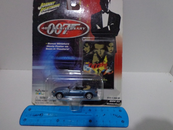 Bmw Z3 James Bond 1/64 Johnny Lightning 007