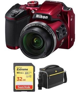 Cam. Nikon B500 16mp 40x Zoom Fullhd Wifi