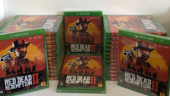 Red Dead Redemption 2 Xbox One Mídia Física + Mapa Promoção