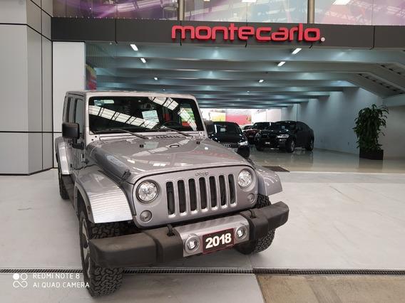 Jeep Wrangler Unlimited Sahara 2018 Plata