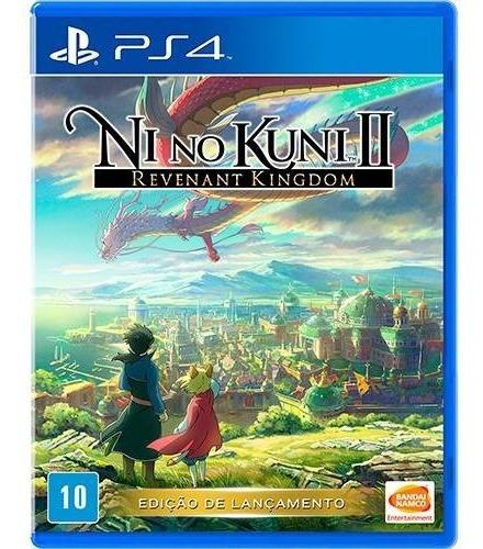 Jogo Ps4 Ni No Kuni 2 Revenant Kingdom Inglês (lacrado)