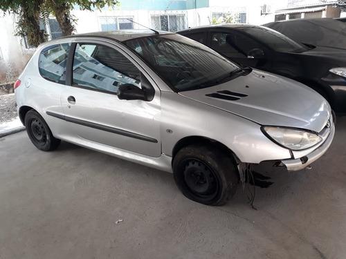 (18) Sucata Peugeot 206 2001 1.0 16v (retirada Peças)