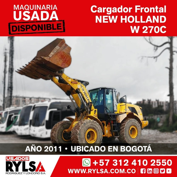 Cargador Frontal Usado New Holland