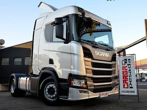 Scania R450 R 450 Teto Alto= R510 410 Mb Iveco Volvo Fh 4x2