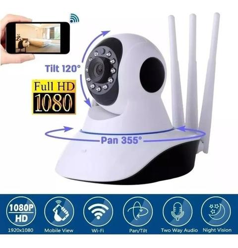 Camara Seguridad Robotica 3 Antenas Wifi Yoosee Nueva