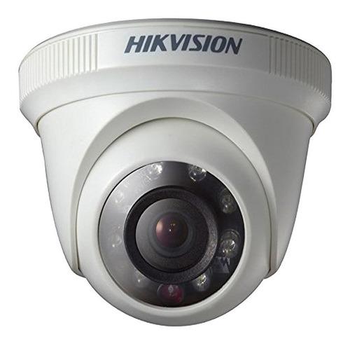Cámara Turbo Hd Hikvision Domo Fijo 2mpx Exterior Ir20 2,8mm