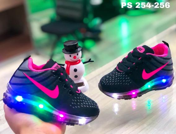 Tenis Zapatillas Para Niño Y Niña Con Luces Del 21 Al 33