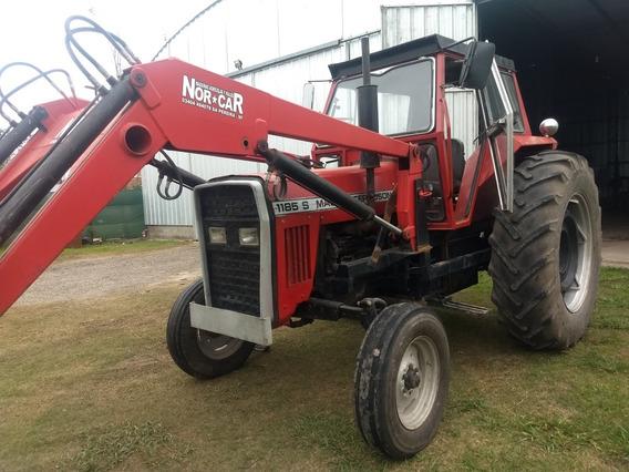 Tractor Massey Ferguson 1185 Con Cabina Y Pala Frontal.