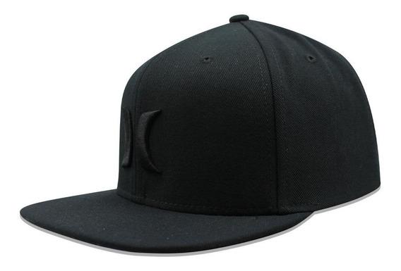 Gorra Hurley Snapback Icon Negro