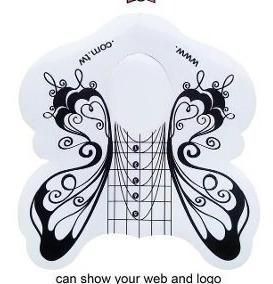 Moldes Mariposa Por 100 Unidades