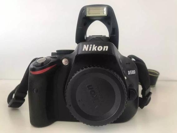 Camera Nikon D5100 + Lente 18-55