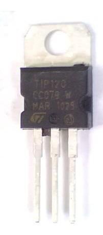 Transistor Npn Darlington Tip120 Trans 124