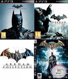 Batman Arkham Collection Ps3
