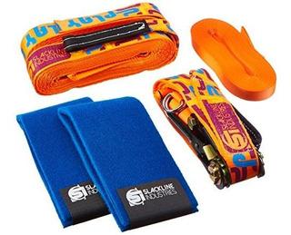 Slackline Industries Play Line - 50ft Slackline Kit Para Pri