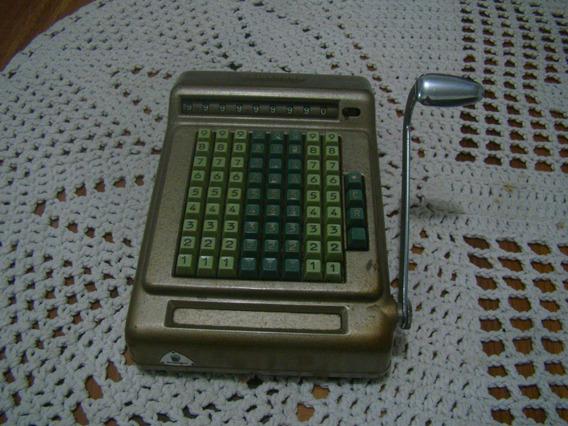 Calculadora Alemã Brunsviga 90t , R A R I D A D E Anos 50