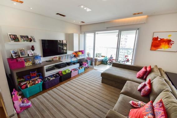 Apartamento Com 153m², 3 Dormitórios, 3 Suítes, 4 Vagas E 1 Depósito Em Moema!!!!! - Mo281
