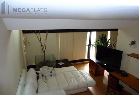01607 - Flat 2 Dorms. (1 Suíte), Bela Vista - São Paulo/sp - 1607