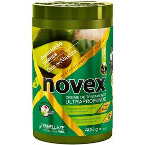 Creme De Tratamento Novex 400g Oleo De Abacate