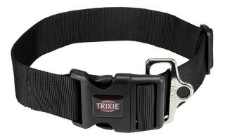 Collar Premium Para Perros Regulable Negro Xs-s 22-35cm