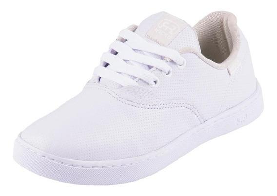 Tênis Hocks Branco White Sonora Original Em Couro Promoção