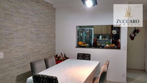 Apartamento À Venda, 80 M² Por R$ 419.500,00 - Jardim Las Vegas - Guarulhos/sp - Ap10816