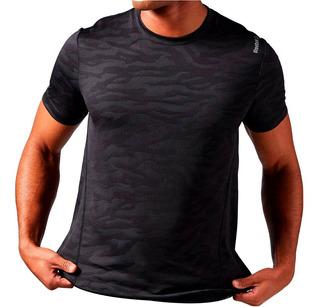 Remera Camiseta Reebok Training Deportiva De Hombre Mvdsport
