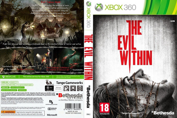 The Evil Within Xbox 360 Midia Digital