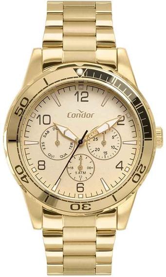 Relógio Dourado Masculino Condor Co6p29iv/4x