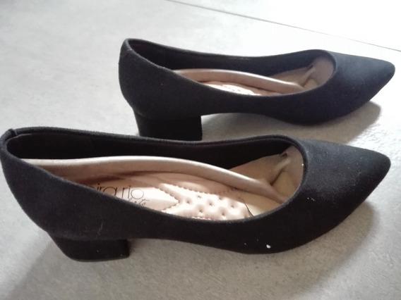Zapatos Sintetico Gamuzados 36