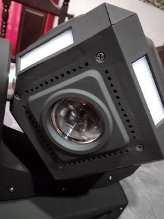 Luz Dj Cabezal Móvil Mini Rubik Led 10 Watts!! Permuto