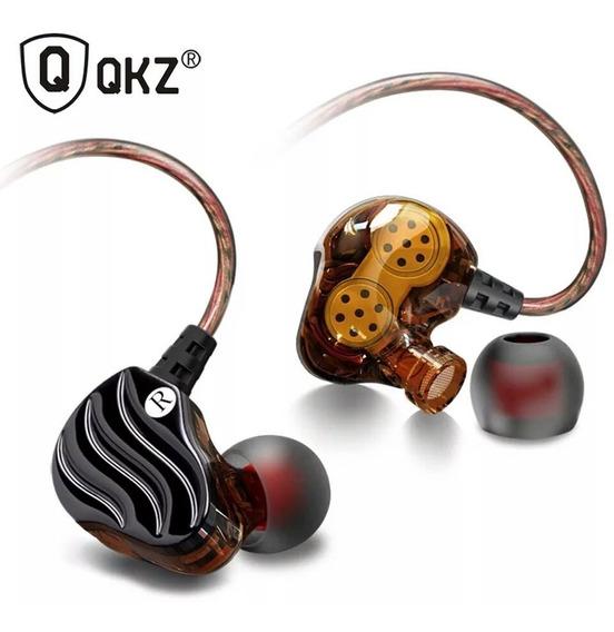 Fone In Ear Qkz Kd4 Monitor Retorno De Palco