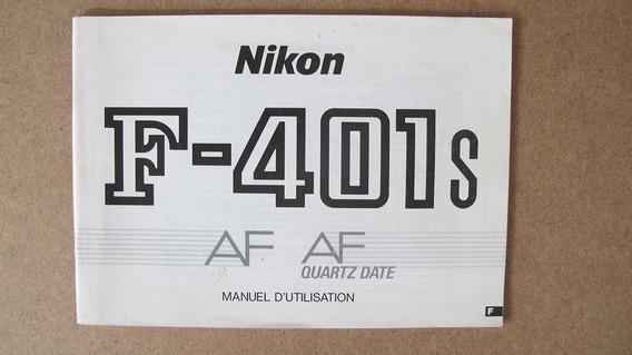 Nikon F401 Manual Instrução