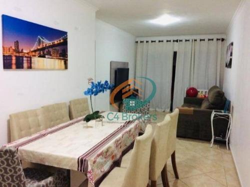 Apartamento Com 2 Dormitórios À Venda, 55 M² Por R$ 225.000,00 - Vila Augusta - Guarulhos/sp - Ap1746