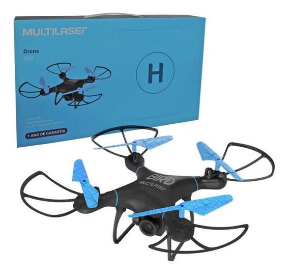 Drone Multilaser Bird Camera Hd 80m 22 Min Es255