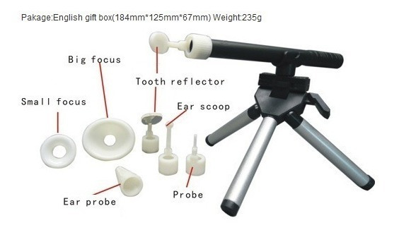 Câmera Microscópica Inspeção Endoscópica