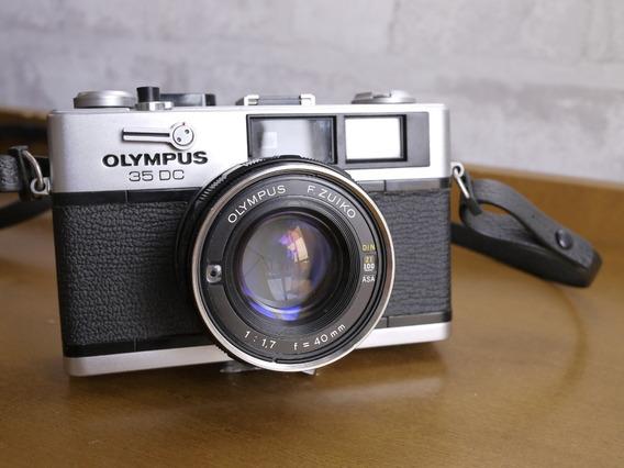Câmera Olympus 35 Dc Zuiko 40mm F1,7 = Trip Lomo