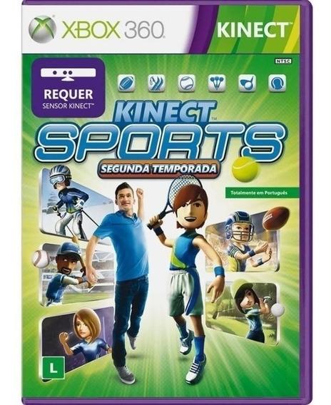 Kinect Sports Segunda Temporada Mídia Física Xbox 360
