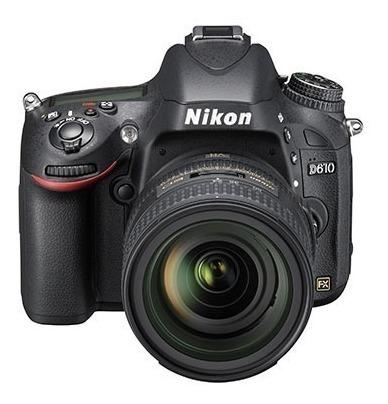 Câmera Nikon D610 Af-s 24-85mm Nova, Sem Uso, Lacrada