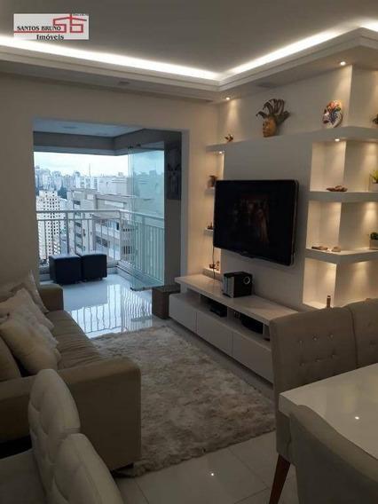 Apartamento Com 2 Dormitórios À Venda, 66 M² Por R$ 620.000,00 - Barra Funda - São Paulo/sp - Ap2450