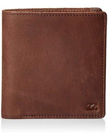 Billabong Men S Gaviotas Leather Wallet