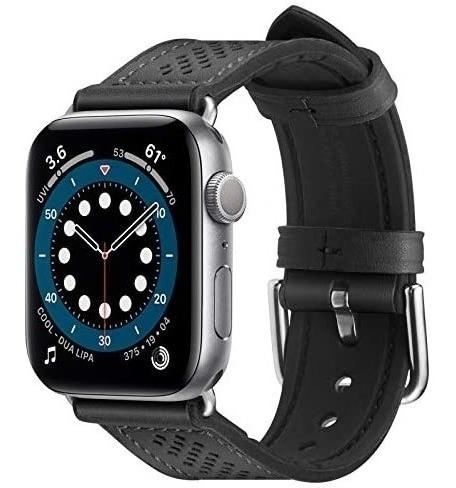Imagen 1 de 6 de Malla Spigen Retro Fit Apple Watch 40-6/se/5/4 38-3/2/1 Blac