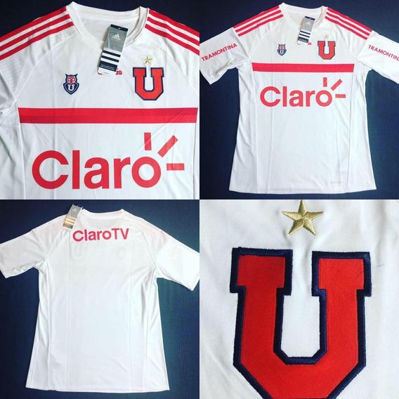 Camisa Lau Universidad De Chile 15-16 Away Tam Xl 16 Anos
